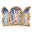 Obrazek Tryptyk Anioł Stróż na kładce