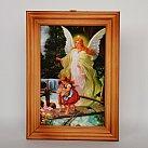Obrazek w ramce Anioł Stróż na Kładce