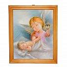 Obrazek w ramce Anioł Stróż LATARENKA