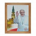 Obrazek w ramce Ojciec Święty Franciszek, wzór 5