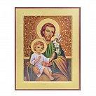 Ikona św. Józef większa wzór 2