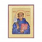 Ikona św. Antoni, mniejsza