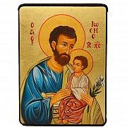 Ikona Józef 12x16
