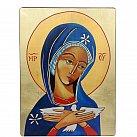 Ikona Maryi Oblubienicy Ducha świętego 12x16 cm