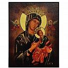 Obrazek z ikoną Matki Boskiej Nieustającej Pomocy
