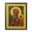 Obrazek z ikoną Matki Bożej Częstochowskiej wzór 2