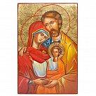 Ikona święta Rodzina malowana