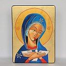 Ikona Maryi Oblubienicy Ducha świętego 12x16 cm.