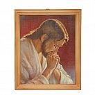 Obrazek w ramce Jezus modlący się 20 x 25