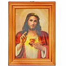 Obrazek w ramce Serce Pana Jezusa 10 x 15