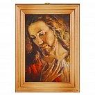 Obrazek w ramce z Jezus wg brata Elia 10 x 15