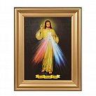 Obraz Jezu Ufam Tobie gładka rama