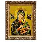 Obraz Matka Boska Nieustającej Pomocy w ozdobnej ramie