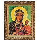 Obraz Matka Boska Częstochowska ozdobnej ramie 50x70 płótno