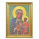 Obraz na płótnie Matka Boska Częstochowska w ramie