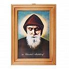 Obrazek w ramce św. Charbel 10 x 15 cm