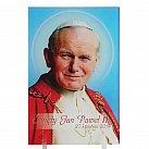 Obrazek Święty Jan Paweł II na plexi