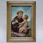 Obrazek w ramce ze Świętym Antonim