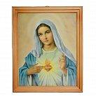 Obrazek w ramce Serce Maryi 20x25 cm.