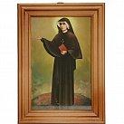 Obrazek w ramce św. Faustyna Kowalska 10x15