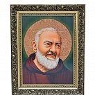 Obraz św. o.Pio 30x40