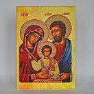 Obrazek Ikona św. Rodziny, Pamiątka Zawarcia Sakramentu Małżeństwa A5 jasna