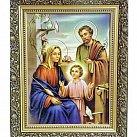 Obraz św. Rodzina 30x40 (ozdobna rama)