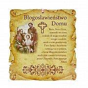 Obrazek z błogosławieństwem w sepii