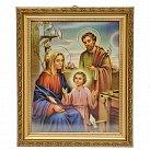Obrazek Święta Rodzina w ozdobnej ramce