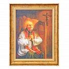 Obraz św Jan Maria Vianney na płótnie