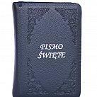 Pismo św. Biblia Tysiąclecia mała - granatowa paginowana