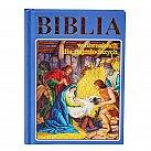 Biblia dla najmłodszych niebieska
