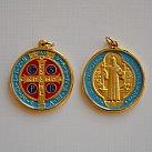Medalik św. Benedykta większy metalowy