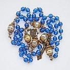 Różaniec Antyk niebieski