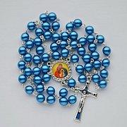 Różaniec ze św. Rodziną niebieski