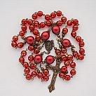 Różaniec Antyk czerwony