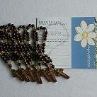 Margaretka Modlitwa za kapłanów zestaw drewno ciemne