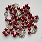 Różaniec do 7 Boleści Matki Bożej bordowy