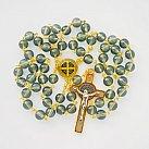 Różaniec Benedykt kolorowy oliwkowy