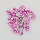 Różaniec kulka różowy