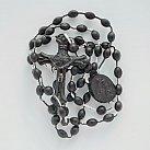 Różaniec plastik, kolor czarny MB Szkaplerzna