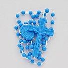 Różaniec plastikowy, Matka Boża Szkaplerzna niebieski