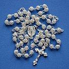 Różaniec srebrny kulka ażurowa