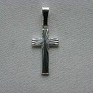 Krzyżyk srebrny wzór 2