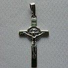 Krzyżyk srebrny św. Benedykta
