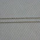 Łańcuszek srebrny ankier diamentowany 45 cm