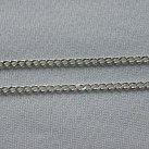 Łańcuszek srebrny pancerka średnia 50 cm