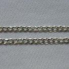Łańcuszek srebrny pancerka 50 cm gruba