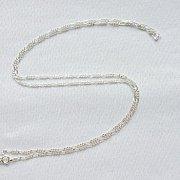 Łańcuszek srebrny figaro 55 cm