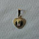 Medalik srebrny Matka Boska serce